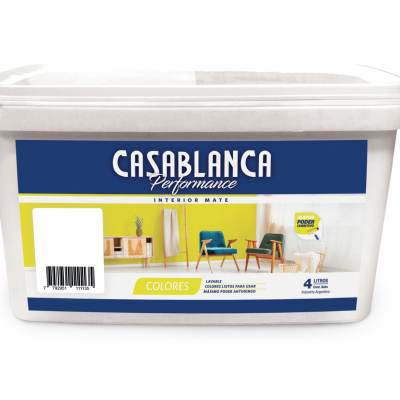 CASABLANCA INTERIOR PERFORMANCE COLOR 10 LITROS