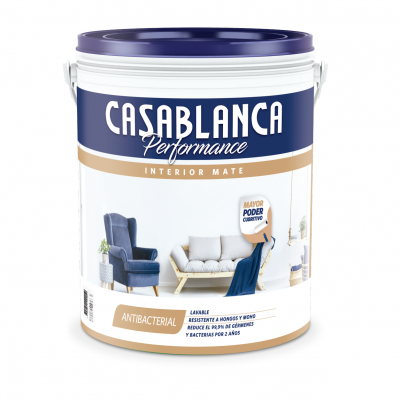 CASABLANCA INTERIOR PERFORMANCE BLANCO 20 LITROS