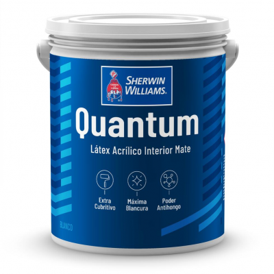 LATEX INTERIOR QUANTUM BLANCO 20 LITROS